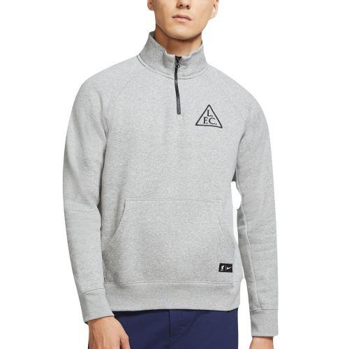 Liverpool 1/4 Zip Sweatshirt - Dark Grey