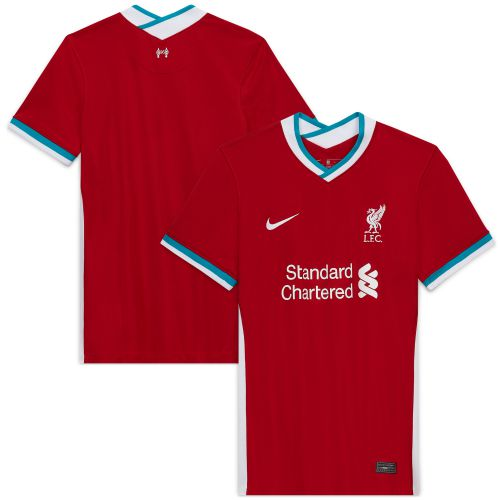 Liverpool Home Stadium Shirt 2020-21- Womens with M.Salah 11 printing
