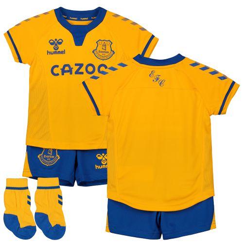 Everton Away Baby Kit 2020-21 with Sigurdsson 10 printing