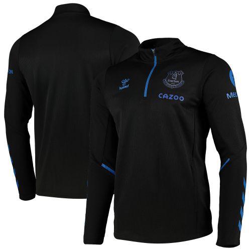 Everton Training Half Zip Sweat - Black - Kids