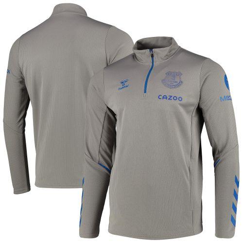 Everton Training Half Zip Sweat - Grey - Kids