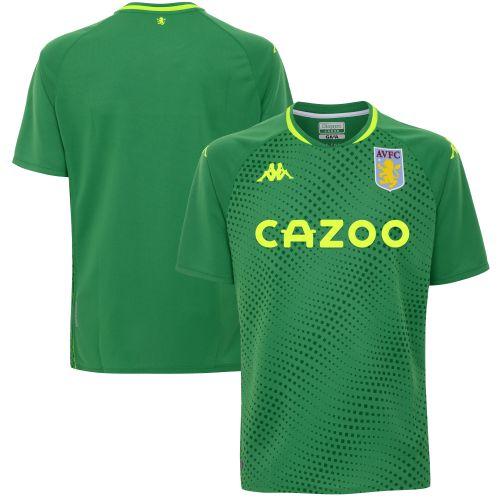 Aston Villa Goalkeeper Home SS Stadium Shirt 2020-21 - Kids