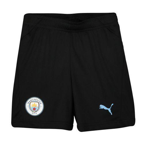 Manchester City Training Shorts - Black - Kids