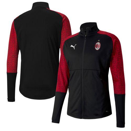 AC Milan Stadium Jacket - Black