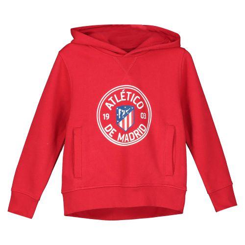 Atlético de Madrid Printed Hoodie - Red - Boys