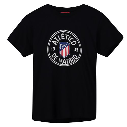 Atlético de Madrid Printed T-Shirt - Navy - Boys