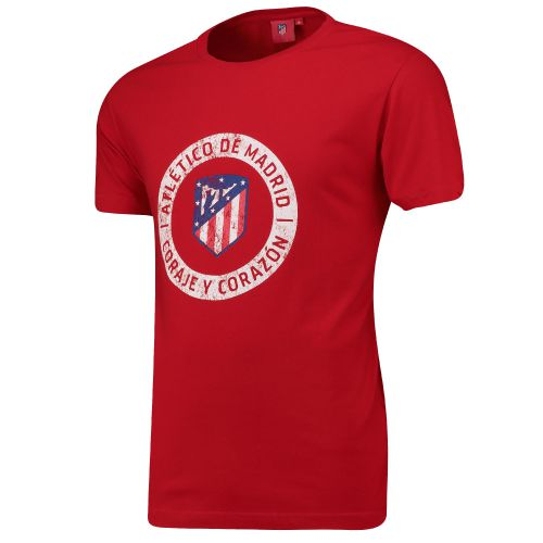 Atlético de Madrid Printed T-Shirt - Red - Mens