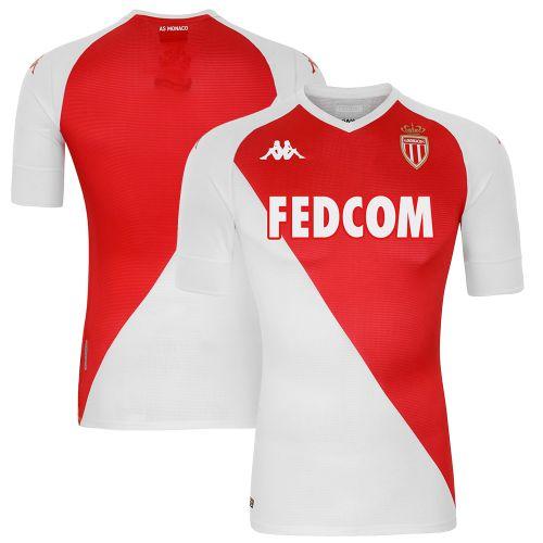 AS Monaco Home Shirt 2020-21