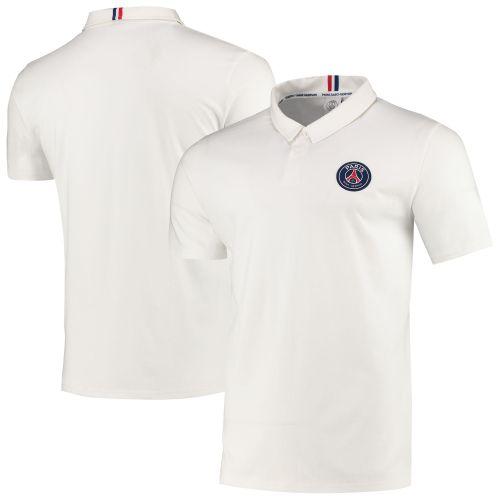 Paris Saint-Germain Core Crest Polo - White - Mens