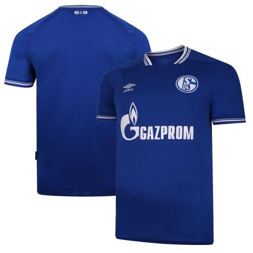 FC Schalke 04 Home Jersey 20-21 - Short Sleeve