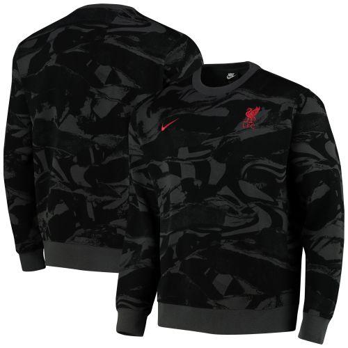 Liverpool Crew Neck Sweatshirt - Dark Grey