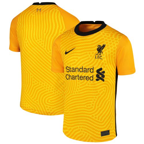 Liverpool Goalkeeper Stadium Shirt 2020-21 - Kids