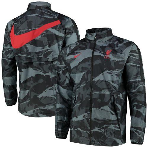 Liverpool Zip Through Jacket - Dark Grey