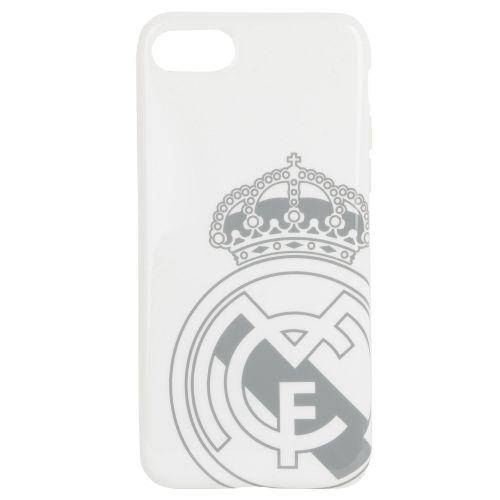 Real Madrid TPU iPhone 7/8 Cover - White-Grey