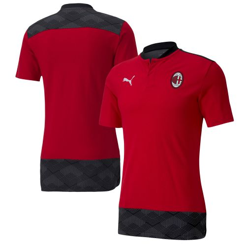 AC Milan Casuals Polo - Red