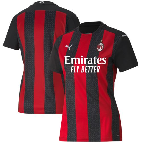 AC Milan Home Shirt 2020-21 - Womens