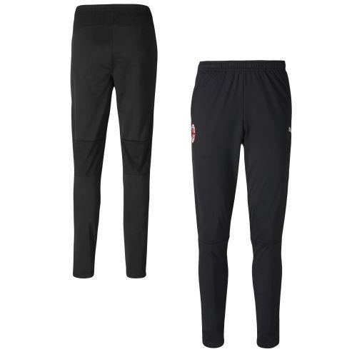 AC Milan Training Pants - Black - zip pockets
