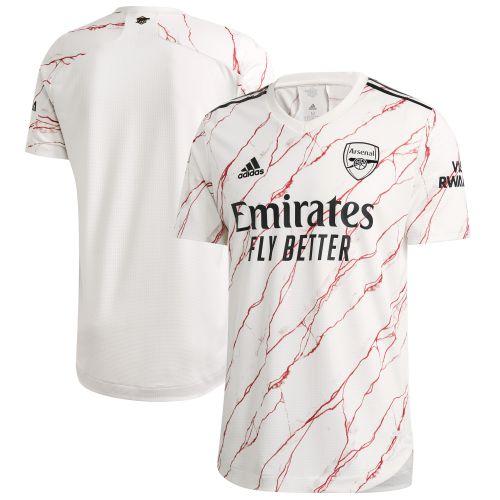Arsenal Authentic Away Shirt 2020-21 with Aubameyang 14 printing