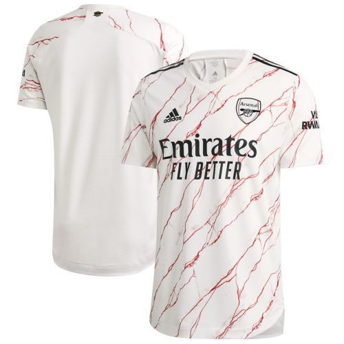 Arsenal Authentic Away Shirt 2020-21 with Martinelli 35 printing