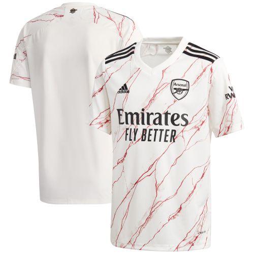 Arsenal Away Shirt 2020-21 - Kids with Lacazette 9 printing