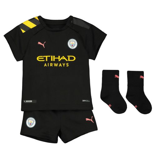 Manchester City Away Baby Kit 2019-20 with Fernandinho 25 printing