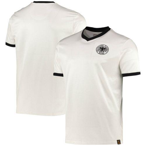 DFB True Classics 1970 Retro Home Shirt - White - Mens