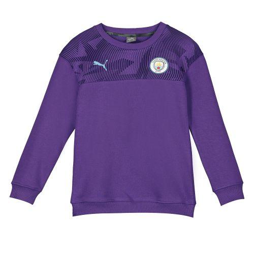 Manchester City Casuals Sweatshirt - Purple - Kids