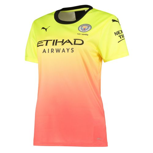 Manchester City Third Shirt 2019-20 - Womens with Wembley 20 printing