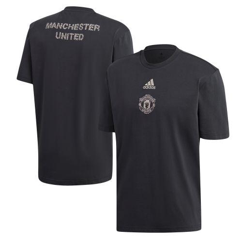 Manchester United SSP T-Shirt - Dark Grey