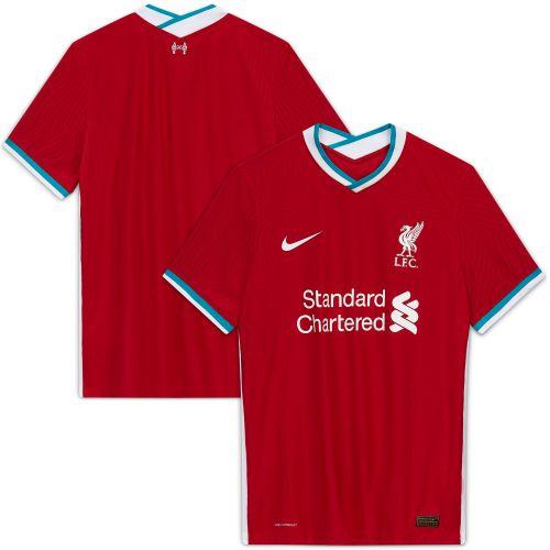 Liverpool Home Vapor Match Shirt 2020-21 with Firmino 9 printing