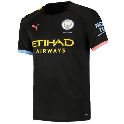 Manchester City Away Shirt 2019-20 with Silva 21 printing