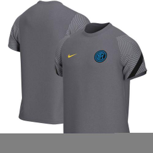 Inter Milan Strike Training T-Shirt - Dark Grey
