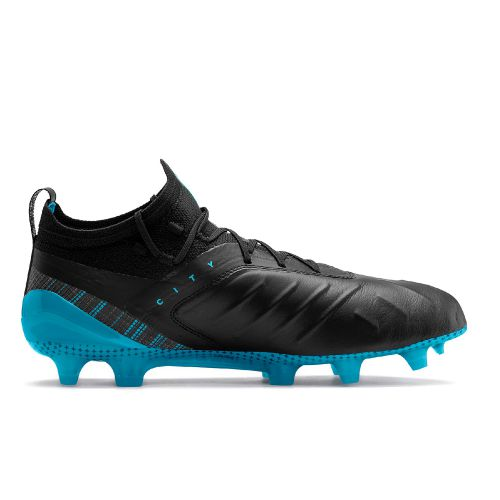 Puma One 5.1 Man City Edition Firm Ground Football Boots - Black