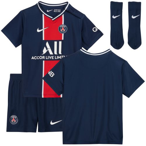 Paris Saint-Germain Home Stadium Kit 2020-21 - Infants with Icardi 18 printing