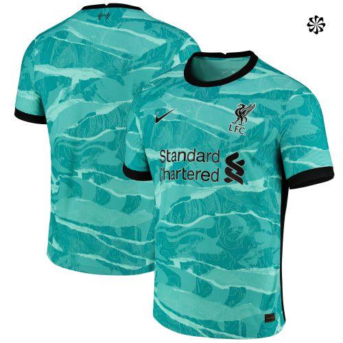 Liverpool Away Vapor Match Shirt 2020-21 with Firmino 9 printing