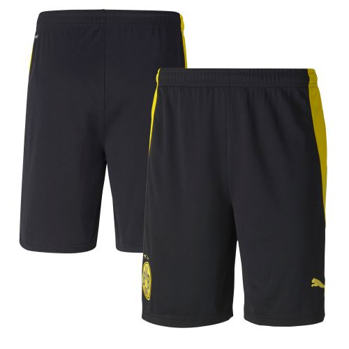 Borussia Dortmund Home Shorts 2020-21 - Kids