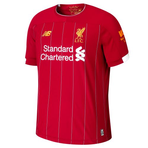 Liverpool Home Shirt 2019-20 with Champions 20 printing