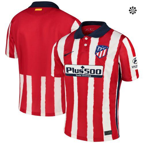 Atlético de Madrid Home Stadium Shirt 2020-21 with Saúl 8 printing