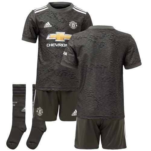 Manchester United Away Mini Kit 2020-21
