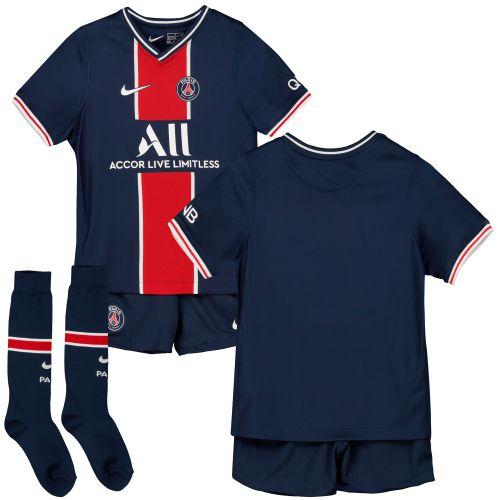 Paris Saint-Germain Home Stadium Kit 2020-21 - Little Kids with Di Maria 11 printing