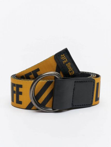 Thug Life / Belt Attention in yellow