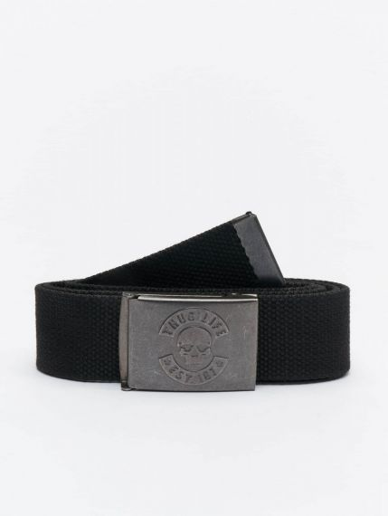 Thug Life / Belt I am Street in black