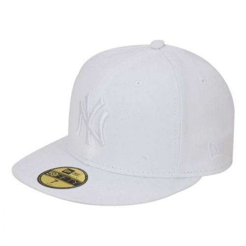 New Era 59FIFTY New York Yankees Optical White on White