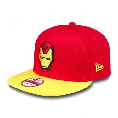 Шапка New Era Basic Badge Iron Man 9FIFTY Snapback