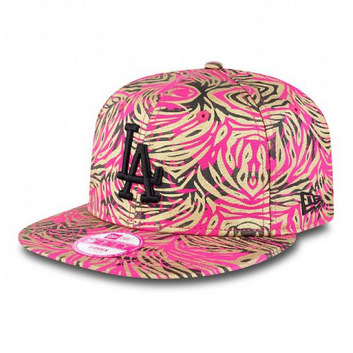 Шапка New Era Jungle Buzz LA Dodgers 9FIFTY Womens Snapback