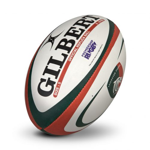 Leicester Tigers Official Replica Ball - Size 5