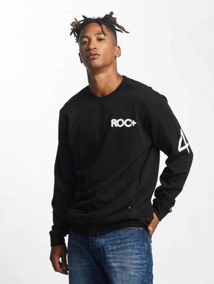 Rocawear / Jumper Retro Sport Crew Neck in black