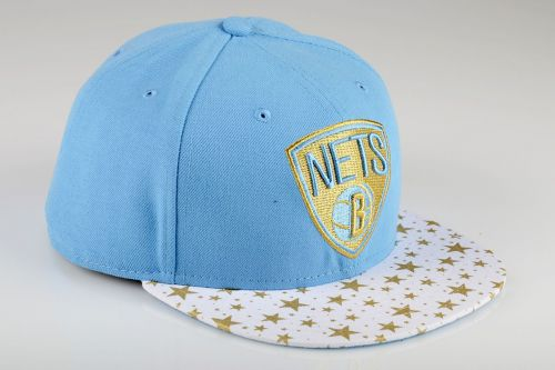 Type Caps New Era Star Hook Brooklyn Nets Fitted Cap