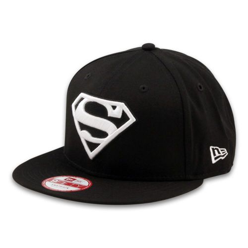 Шапка New Era Superman Black/White 9FIFTY Snapback