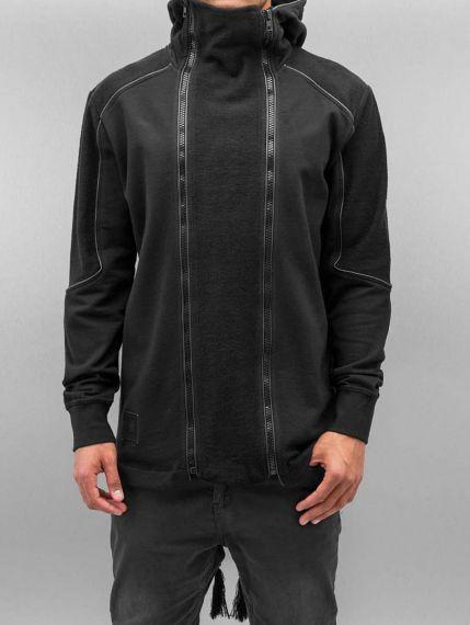 Bangastic / Zip Hoodie Doppel Zip in black